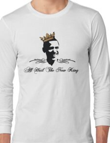 KING OBAMA  Long Sleeve T-Shirt