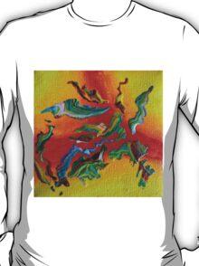 """Intrepid"" original abstract artwork T-Shirt"
