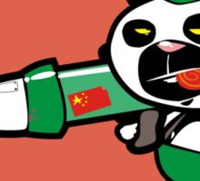 Panda Commando Sticker