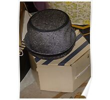 Vintage Hat And Box Poster