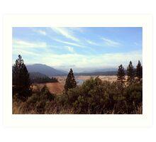 Sierra Foothills II Art Print