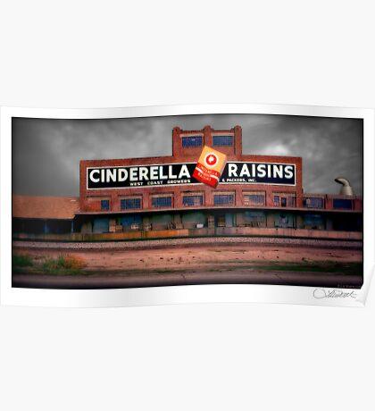 Cinderella Raisins Poster