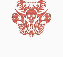 skull tattoo orange Unisex T-Shirt