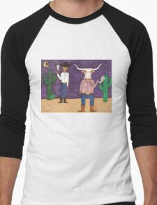 Meanwhile, back on the ranch... II Men's Baseball ¾ T-Shirt