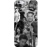 Shia Labeouf B&W Collage iPhone Case/Skin