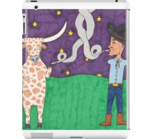 Meanwhile, back on the ranch... III iPad Case/Skin