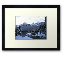 I'm Freezing Framed Print