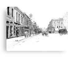 Bentonville, Arkansas Square - 1914 Metal Print