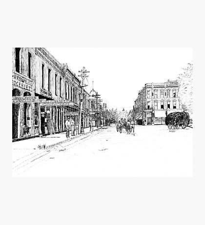 Bentonville, Arkansas Square - 1914 Photographic Print