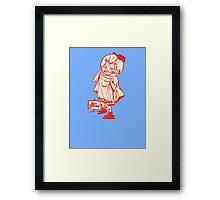 Hot Springs Bathers Baseball Team Framed Print