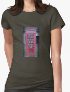 no ordinary Phone box  Womens Fitted T-Shirt