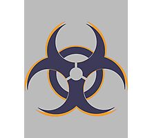 Geometric Symbol Triplet Photographic Print