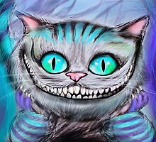 Cheshire Cat from Alice in Wonderland  by Ryan Biddle