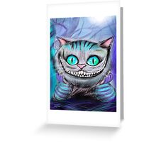 Cheshire Cat from Alice in Wonderland  Greeting Card
