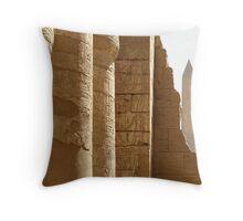 Egypt - Parallel Lines Throw Pillow