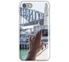 A view of the harbour bridge iPhone Case/Skin
