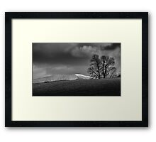 Snow capped Brecon Beacons Framed Print