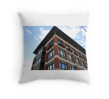 Corner of a Building  Throw Pillow