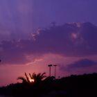My violet sunset by kissmelina