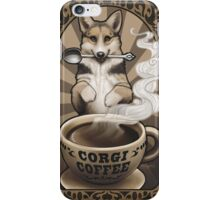 Corgi Coffee iPhone Case/Skin