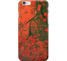 blossoms and bones iPhone Case/Skin