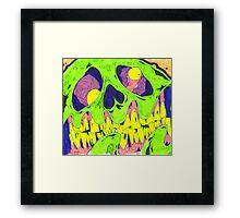Zombie Draw Framed Print