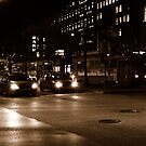 "City Life - ""Evening Lights p2"" by Denis Molodkin"