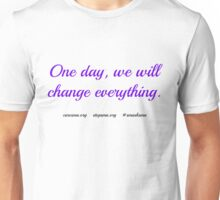 One Day-SMA Unisex T-Shirt