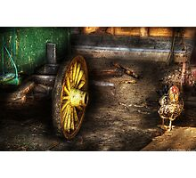 The Rooster Photographic Print