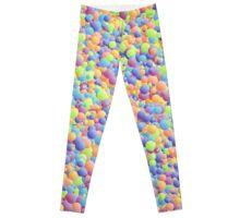 Multicoloured Micro Bubbles  Leggings