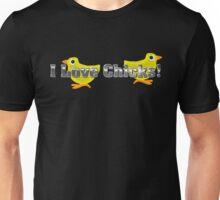 I Love Chicks (Chrome) Unisex T-Shirt