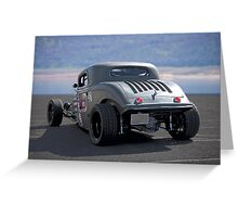 1934 Ford 'Autocross' Coupe 1 Greeting Card