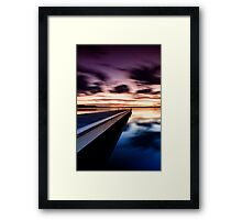 Cloud Dancing Framed Print