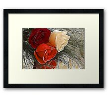 All different~All special Framed Print