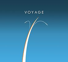 Space Shuttle Abstract - VOYAGE by redrectangle