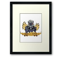 Kimahri Agree Framed Print