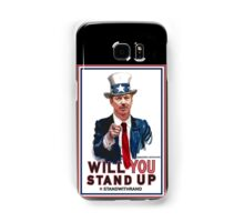 """Will You Stand Up"" Stand With Rand Paul 2016  Samsung Galaxy Case/Skin"