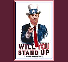 """Will You Stand Up"" Stand With Rand Paul 2016  Unisex T-Shirt"