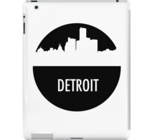 Detroit Skyline Shadow iPad Case/Skin