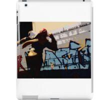 Captain Falcon in the streets iPad Case/Skin