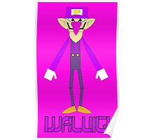 Waluigi Poster