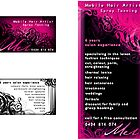 Mel, Business Card and Flyer Design by RedSparrow