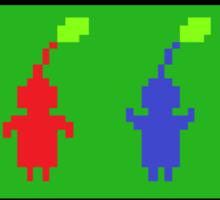 Pixel Pikmin Sticker