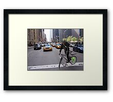 Nightmare on 5th avenue Framed Print