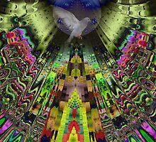 The Aztek temple by CanDuCreations