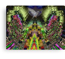 The Aztek temple Canvas Print