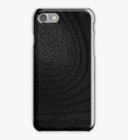 Nuclear Atoms for Peace iPhone Case/Skin