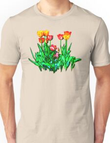 Tulips and a Hyacinth Unisex T-Shirt