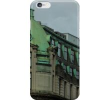 Green roof iPhone Case/Skin