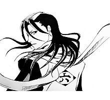 Byakuya Kuchiki Bleach Anime Photographic Print